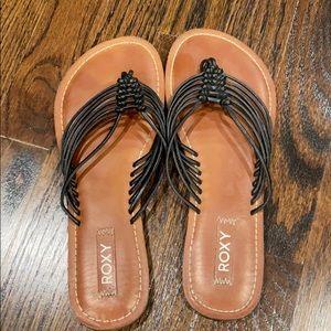 Rosy flip flops